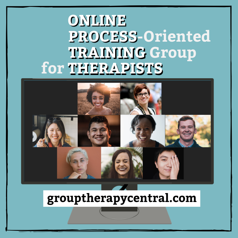 Online Process-oriented Training Group for Therapists, Group Therapy Central