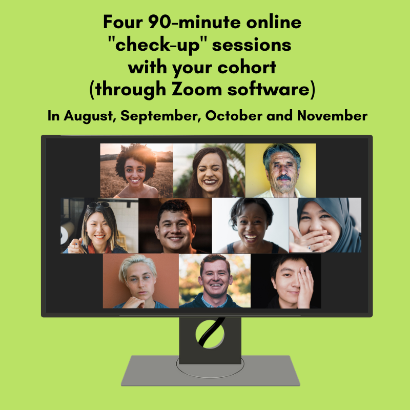"""Online """"check-in"""" appointments with your cohort"""